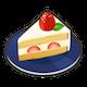 [ショートケーキのアイコン