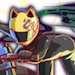 黒影の首なしライダー セルティの画像