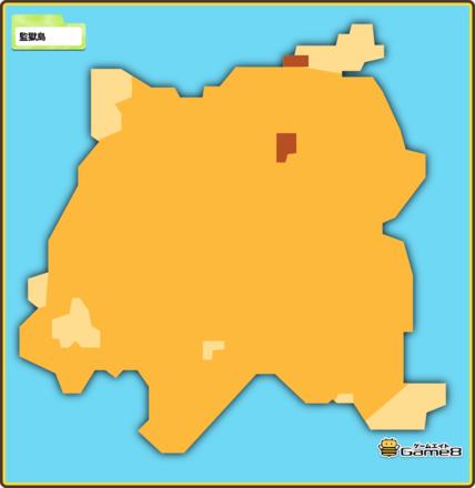 ドラクエビルダーズ2の監獄島