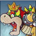 SSBU Paper Bowser (Paper Mario: Sticker Star)