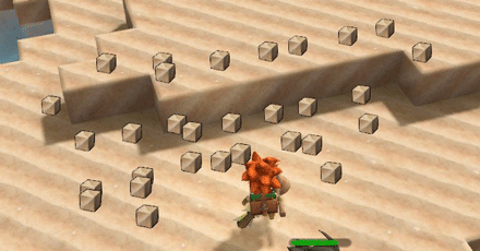 砂浜ブロックを大量に確保しよう