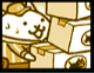 ネコの宅配便の画像