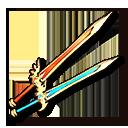 二刀アーサーのエクスカリバーの画像