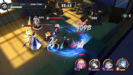 魔女兵器 バトル画面