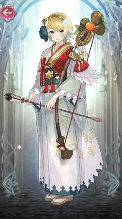フィヨルム(初詣の氷姫)の立ち絵