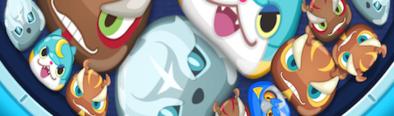 ぷにぷにのパズル画面
