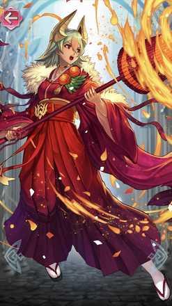 レーギャルン(初詣の炎姫)の立ち絵