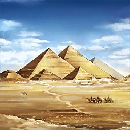ギザピラミッド(古の大ピラミッド)