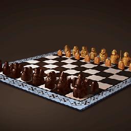 ルイス島のチェス(蒼白の国王)の画像