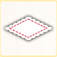 リビングカーペットの画像