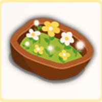 陶製の花壇制の画像