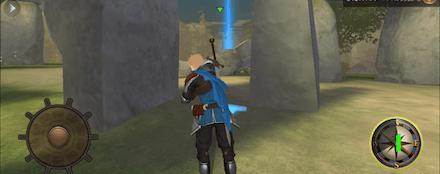 北欧海賊の戦斧の位置