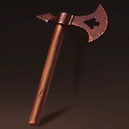 北欧海賊の戦斧(故郷を離れた国王)の画像