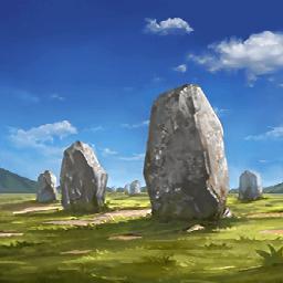カルナック列石(石化された兵士)