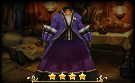 聖白詰のジャケット/コルセット:紫のメンズ画像