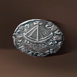ルイ一世のコイン(フランクの財宝)の画像