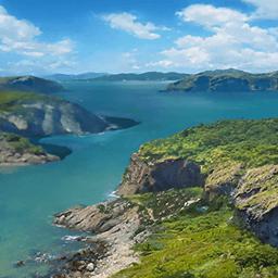 ジブラルタル海峡(地中海の喉笛)の画像