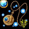 【神】ギアネックレス・水宝玉の画像