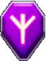 紫のオーブ画像