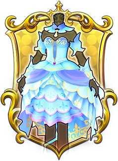 アクアマリンドレスの画像