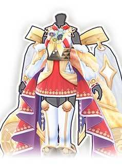 神楽舞の装束の画像