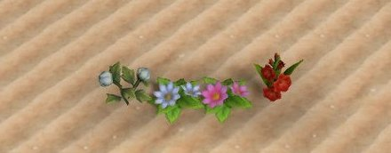 集める必要がない花
