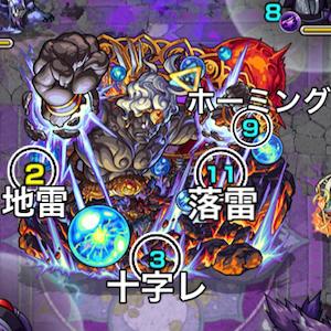 不動明王の攻撃パターン
