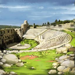 ディオニュソス劇場(オイディプス)の画像