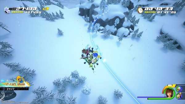 アレンデールの雪すべりでオリハルコン