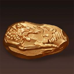 リュディアの金貨(長い歴史の金貨)の画像