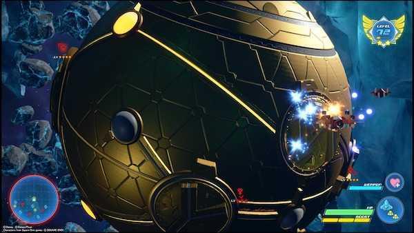 トレジャースフィアのゲーム画面