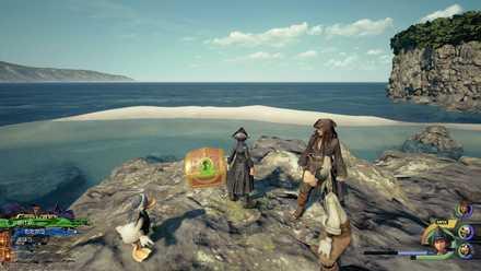 砂の島の地図の入手場所