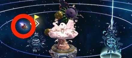 モーグリ座の星座場所