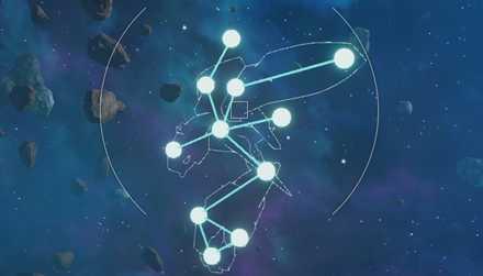 エンディミオンの星座の形