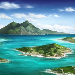 バハマ諸島(嵐の前)の画像