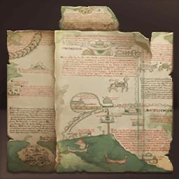 約束の地の地図(聖地を求め)の画像