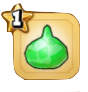 スライム鉱石(緑)