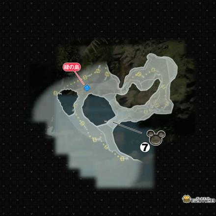 縁の島の幸運のマーク