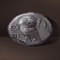 ドラクマ銀貨(ギリシア銀貨)の画像