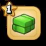 ゴーレム鉱石(緑)
