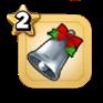 クリスマスベル(銀)