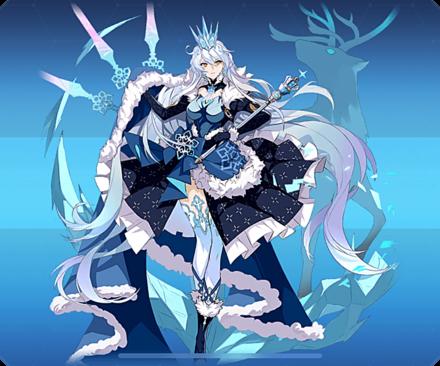 空の律者・氷の女王(B)