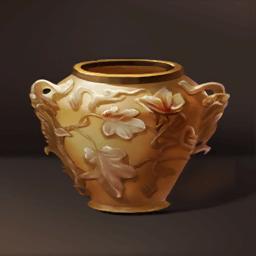 ビザンツ瑪瑙の花瓶(メノウの過敏)の画像