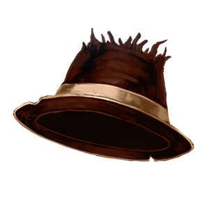 白き殺人鬼の帽子の画像