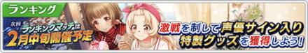 バレンタイン記念!熱闘プリンセス杯の画像