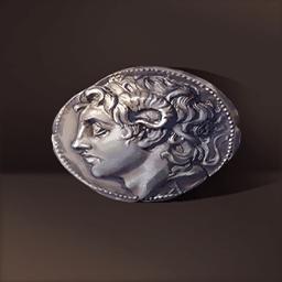 アレクサンダー銀貨(古代覇王の銀貨)の画像