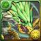 緑の契約龍の画像