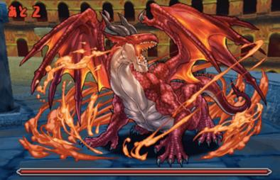 ドラゴンズドグマコラボの7F
