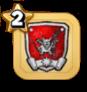 あくまの軍団章
