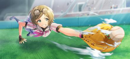 中野綾香【ダイビングキャッチ!】の画像